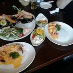 Big house Seafood platter for two - picture doesn't do it justice