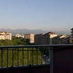 The Alps mountain from the room's terrace