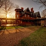 Twain House at Sunset - photo by Frank Grace