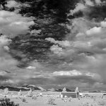 Looking east across the Rusty's (in infrared)