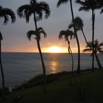 Sunset from our lanai,room 225