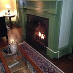 Gas Fireplace - Monroe Room