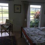 Beautiful guest room overlooking the Glasshouse Moutains