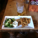 White bait and Stowford Cider