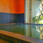 Onsen at the ground floor