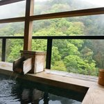 Our own private onsen