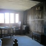 Monmouth Room with gate-leg table reputedly used by Lord Monmouth in 1685.