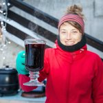 Gluhwein served at our Ice Bar