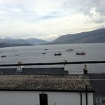 View from Room 11, Argyll Hotel