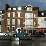 Fairhaven Hotel, Weymouth - frontage of the entrance building