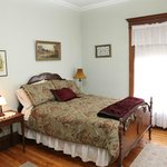 Lily of the Valley Room, 2nd floor, double bed, private bath