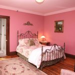 The Rose Room,  2nd floor, queen bed, private bath, private balcony