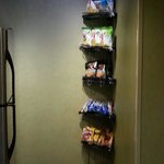Complimentary Snack area in the hall. Great variety.