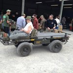 Mule for hire to carry all the ammo you will buy