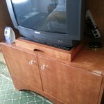 old t.v. & furniture