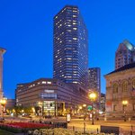 Westin Copley as seen from Copley Square