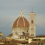 View of Il Duomo from the Penthouse terrace (zoom).