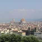 View from piazzale michelangelo (100 m. walk)