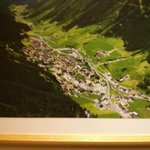Ischgl from above (lift 5min. walk from Hotel)