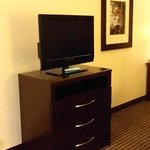 tv with small dresser