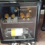 Wine Cooler in room