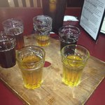 Six Beer Sampler is the best option when deciding which beer