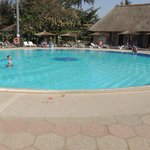 Kairaba Hotel swimming pool taken from the Bolong Bar