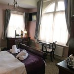 Our bedroom at Lord Rosebery 2