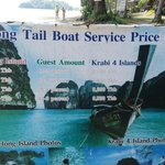 LongTail Boat services to the Islands