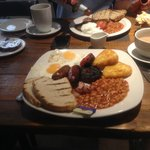 The hearty full english breakfast