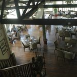 View of restaurant from hotel reception