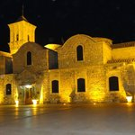 The Church of Saint Lazarus by night