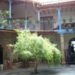 Courtyard of Hotel Arqueologo