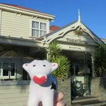 Tuakau Hotel and its mascot, Tua