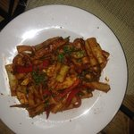 Pasta with Chicken and Tomato Sauce