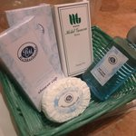 Hotel bathroom amenities