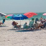 Guests enjoying afternoon beach time!