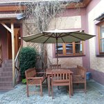 Garden/veranda outside