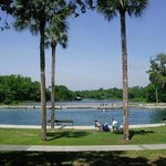 The swimming area at DeLeon Springs