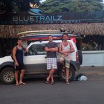 Photo de Blue Trailz Hostel