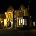 Oaklands Hall by night