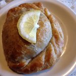 wild salmon pasty. yum.