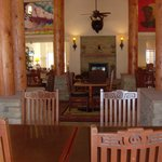 Buffalo Thunder Homewood suites dining room