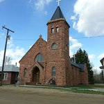 Catholic Church built in the 1860's in Laurin, MT, located only 1000ft from Elijah's Rest B&B Ca