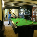 Pool table area/Bar