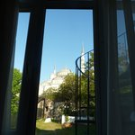 The Blue Mosque from my bedroom window