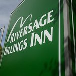 Riversage Billings inn Sign