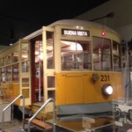 old Miami Trolley car