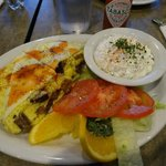 This omelette was the daily special. Excellent!