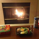 Fireplace for Dinner